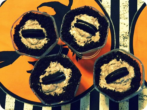 Cookies & Cream Cheesecake Shots