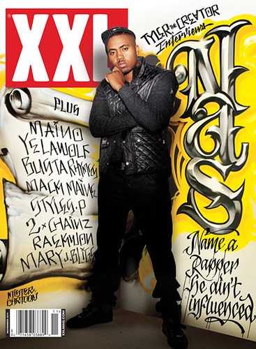 Nas XXL Magazine Cover nov 2011