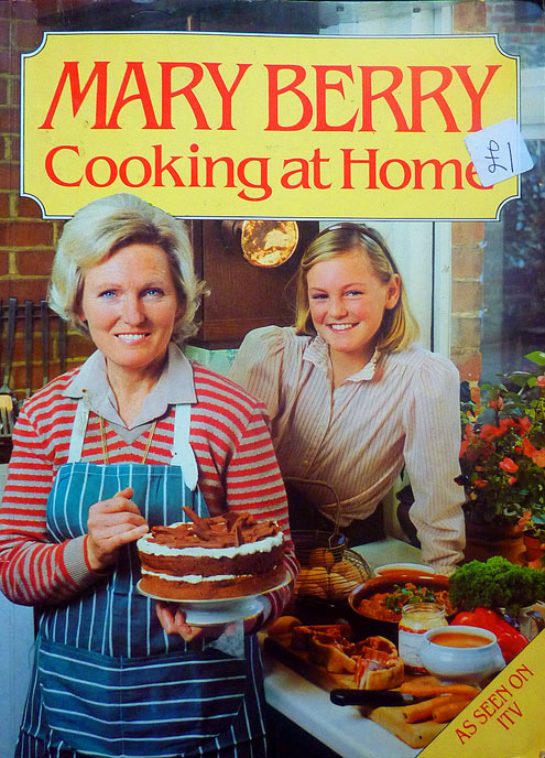 Mary Berry - cooking at home