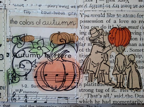 Pumpkin Tiny Book Second Layout