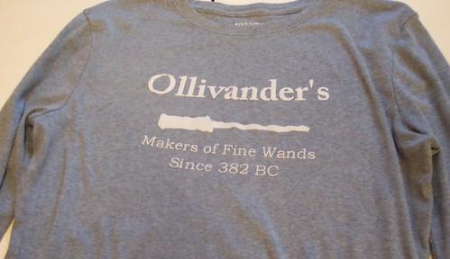Ollivander's Wands T-Shirt