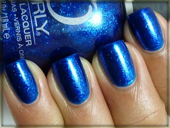 Day 5: (Blue Nails) - Stone Cold by Orly