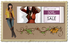 {Zeery} 50% Off Summer Clearance Sale (VixenThibedeau) Tags: sale sl secondlife accessories scarves tops seraphim zeery {zeery} vixenthibedeau seraphimsl vixthibedeau