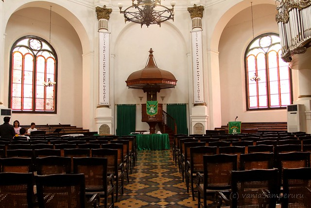 The Interior, Blenduk Church, Semarang.