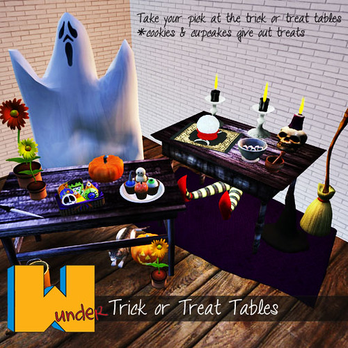 [w]under trick or treat tables