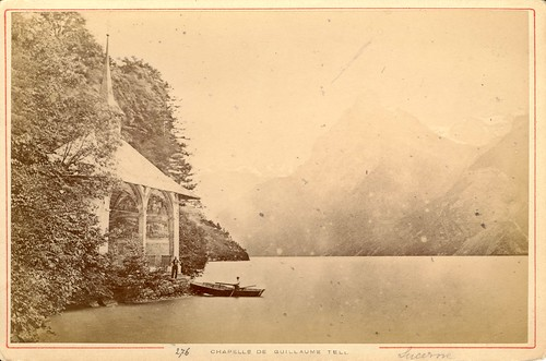 276. Chapelle de Guillaume Tell by Auguste Garcin (c.1860s)