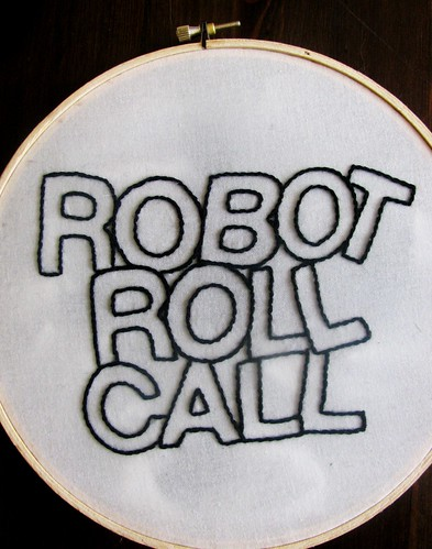 Robot Roll Call