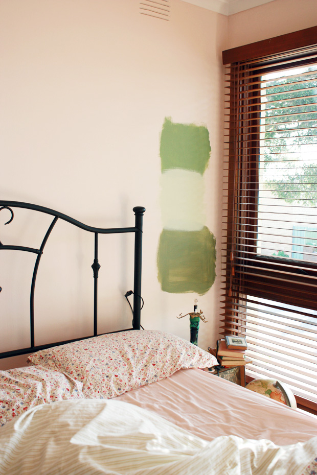 green bedroom f