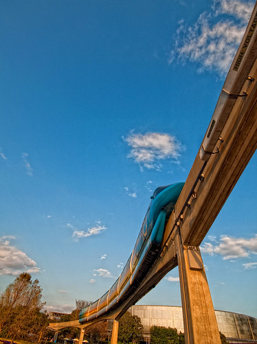 Monorail Monday - Golden Hour Tronorail by DisHippy