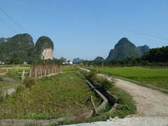 Guanxi country road