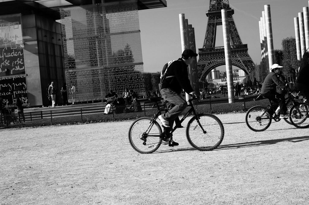 Paris b/w