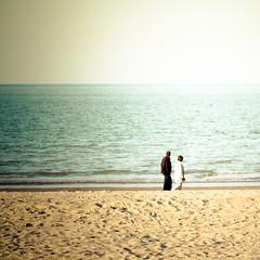 La mer, le sable, des lignes et des gens #5