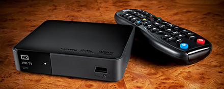 Western Digital WD TV Live wireless streaming media player