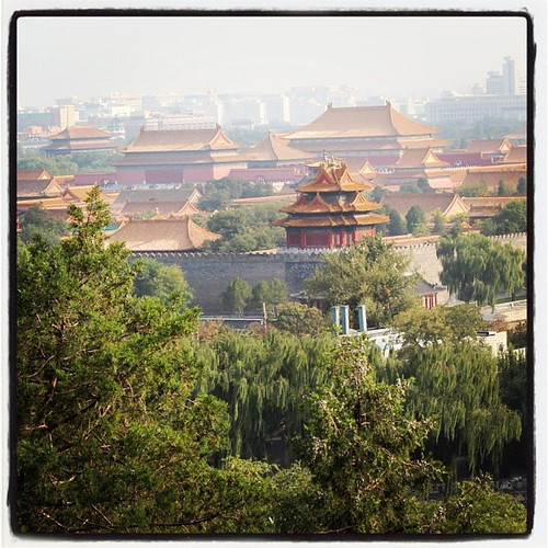 Forbidden City from #Beihai Park by ObieVIP