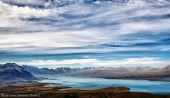 The Southern Alps, New Zealand (Christopher Chan) Tags: newzealand lake mountains clouds canon bravo southisland laketekapo tamron southernalps hdr 30d mountcook 18250mm