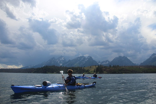 Kayaking in the Grand Tetons