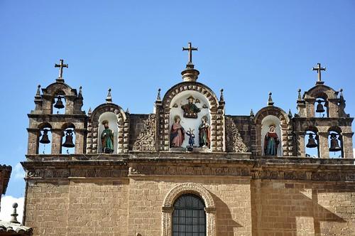 Fachada de la Catedral Del Cusco Fachada de la Iglesia Del