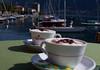 Capuchino anybody?  Belagio, Lake Como, Italy (dima barsky) Tags: italy coffee italian italia bellagio f80 lakecomo capuchino lagocomo canoneos50d aboutitaly