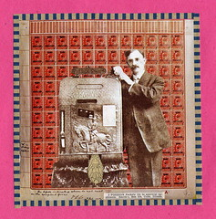 Stamp Vendor (Kollage Kid) Tags: collage stamps stamp vendingmachine postage kollagekit