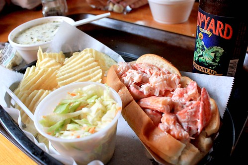 Lobster Roll @ Lobster Shack - Ogunquit, Maine