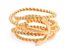 anchor-rope-ring-gold