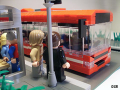 Stockholm SL Bus (Lego.Skrytsson) Tags: city bus bicycle town traffic lego metro stockholm sl minifig minifigure