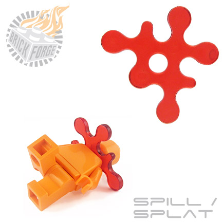 Spill/Splat - Trans Red