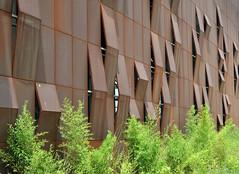 Raif Dinkk Yalova Cultural Center (EAA) (Burin YILDIRIM) Tags: building architecture facade turkey rust steel trkiye rusty center rusted cultural eaa perforated emre mimari raif yalova arolat dinkk
