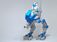 501st AT-RT (Brickcentral) Tags: trooper star darkness lego arc story 501st wars custom build clone epic episode moc atrt umbara