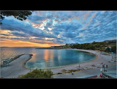 Split  ,  Zenta   ( Explore ) (Damir B.) Tags: sunset sea beach clouds croatia split hrvatska dalmatia dalmacija zalazak zenta plaa impressedbeauty doubleniceshot tripleniceshot mygearandme mygearandmepremium mygearandmebronze mygearandmesilver mygearandmegold mygearandmeplatinum mygearandmediamond artistoftheyearlevel2 pfr11 mgm11