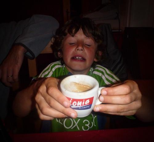 Finn does Espresso