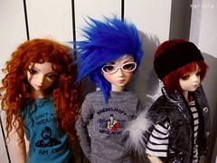 El grupo (Karlota ) Tags: kid doll little fair fairy ami tiny jerome lf bjd luts delf abjd kd tf bluefairy karlota hodoo angelregion