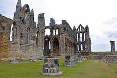 3860 (benbobjr) Tags: uk england cliff heritage church abbey lady religious ruins christ unitedkingdom yorkshire religion north ruin dracula christian east henry monastery northumbria whitby christianity benedictine henryviii northyorkshire hilda whitbyabbey listedbuilding caedmon anglosaxon englishheritage gradei eastcliff monasteries bramstoker kinghenry dissolution benedictineabbey synod dissolutionofthemonasteries gradeilistedbuilding cholmley oswy streoneshalh kingofnorthumbria ladyhilda streonshal oswiu synodofwhitby whitbymansion cholmleys