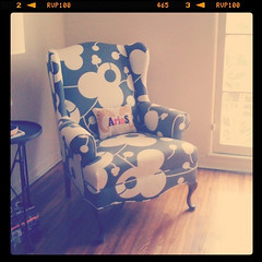 Aries (carolinecohenour) Tags: design pattern pillow needlepoint fabric armchair aries iphone jonathanadler instagram