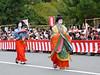 """""""Ono no Komachi"""" and """"A lady in waiting"""" (arumukos) Tags: kyoto maiko geiko kimono gion teahouse yakata maikosan ochaya okiya hanamachi gionkobu ononokomachi geikosan kagai ozashiki gionkoubu satsukisan ochayagame ozashikiasobi kyoukasan aladyinwaiting jidaimatsuri2011"""