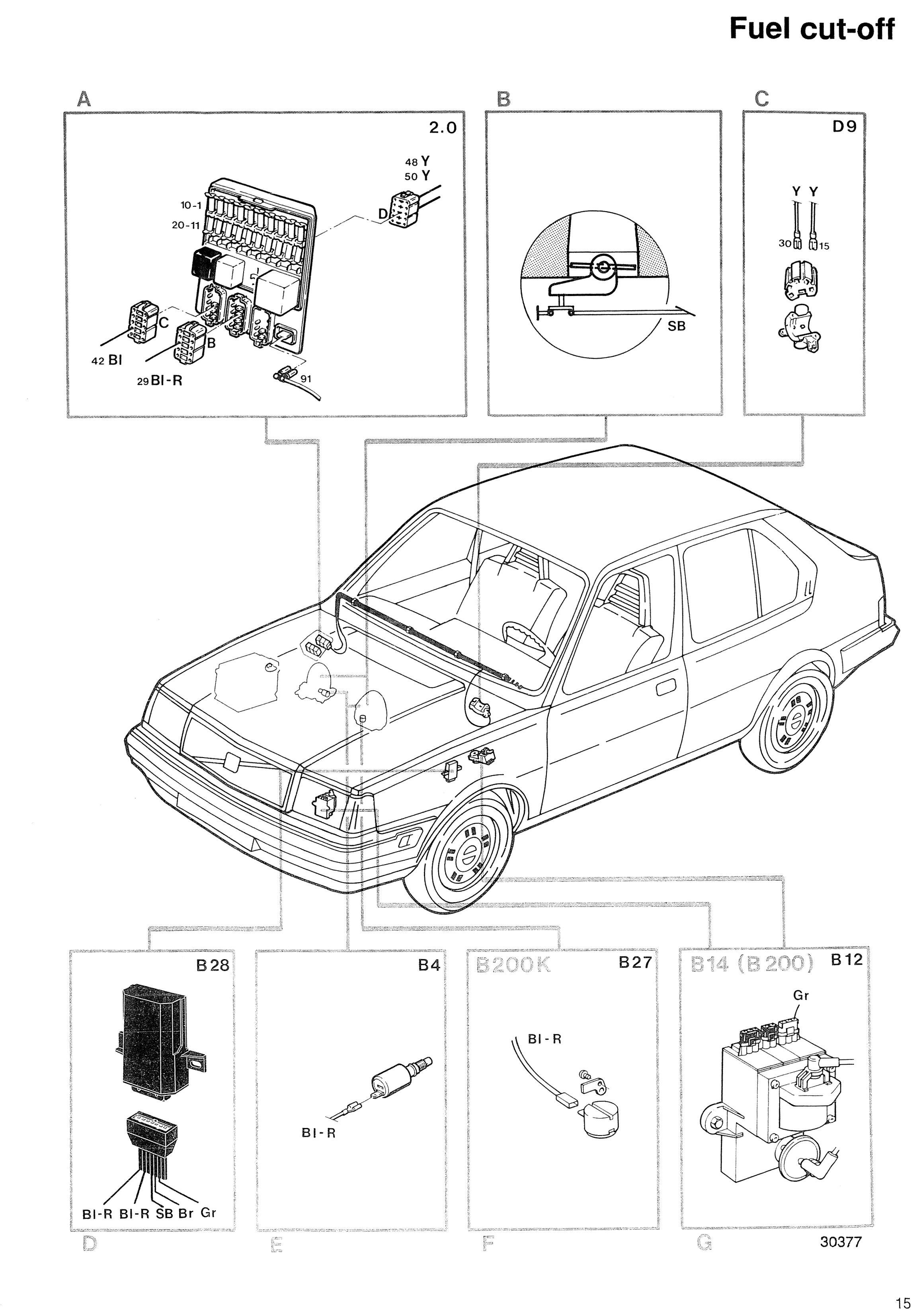 RENIX wiring !!!! - | Volvo 340 Wiring Diagram |  | Volvo 300 Mania