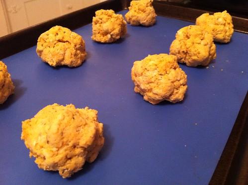 The Pumpkin Patch: Parmesan Pumpkin Biscuits