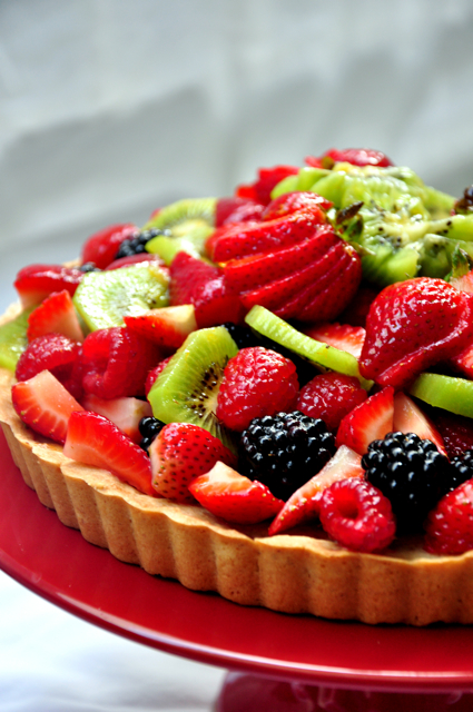 Vanilla And Almond Fresh Fruit Tart Recipes — Dishmaps