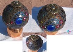 "5"" gazing Ball for Sale (CrystalDiamondDesigns ( Chrisse )) Tags: yard sphere gazingball mosai"