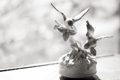 This was my Grandma's... (mama2em) Tags: china california blackandwhite blur northerncalifornia horizontal soft pretty holly bayarea bluebird southbay musicbox selectivefocus