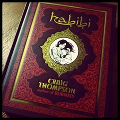 New Reading: Habibi by Craig Thompson