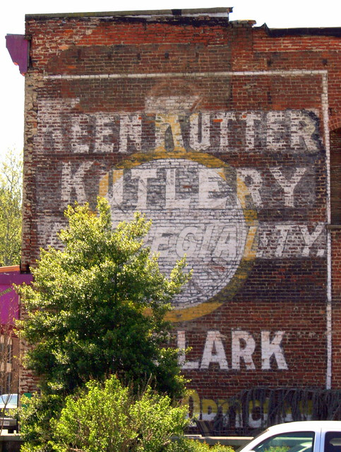 Keen Kutter Kutlery wall ad - Radford Ad