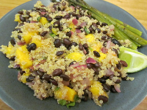Tropical Quinoa and Black Beans