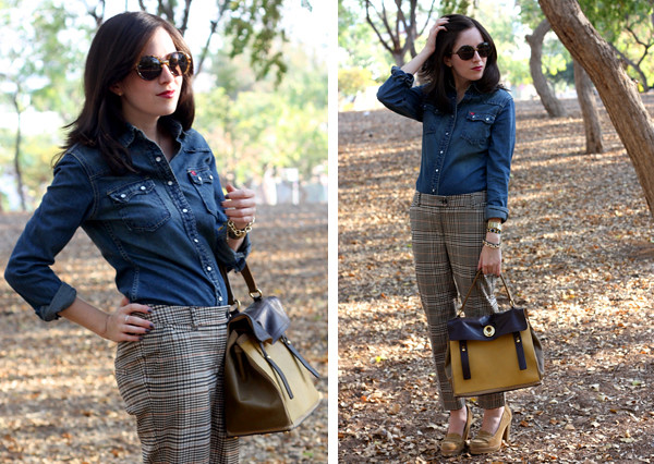 denim_blouse_plaid_pants6