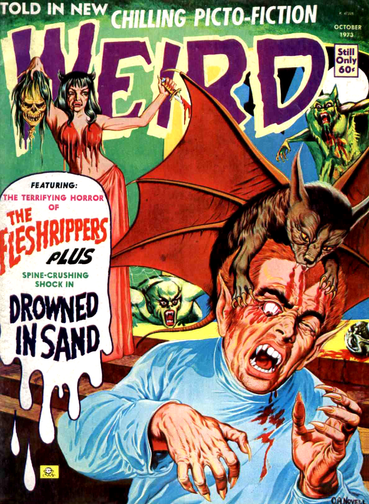 Weird Vol. 07 #6 (Eerie Publications, 1973)