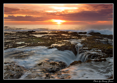 sunrise - the cowry hole - 30-10-2011_0089-Framed