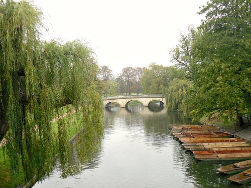 Bridge over Cam , Cambridge.