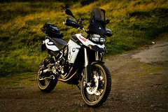 F800GS (BrianReid) Tags: eos scotland bars hand crash mark tail adventure pack rack f 7d bmw l desierto guards spec accelerator us20 2011 f34 ef24105 kriega barkbusters f800gs touatech vernacts moduleadventure