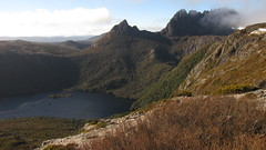 Cradle Mountain (blue polaris) Tags: park mountain lake southwest saint st australia national tasmania clair cradle