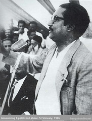 Bangabandhu on 6-point